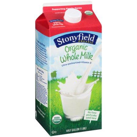 Destination Grocers Whole Organic Milk 1 2 Gallon